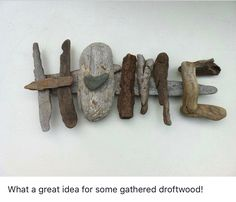 Inspiring Beach Crafts With Driftwood and Sea Glass Crafts Inspiring Beach Crafts With Driftwood and Sea Glass Rock Crafts, Fun Crafts, Arts And Crafts, Crafts With Rocks, Science Crafts, Bible Crafts, Driftwood Projects, Driftwood Art, Driftwood Ideas