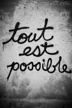 ⊱⚜ f r e n c h s p i r a t i o n ⚜⊰ - Anything is possible…