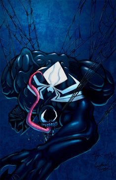 40 Awesome Venom Illustration Artworks