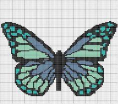 Beaded Butterfly PATTERN loom