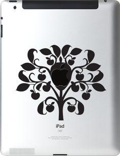 iTattoo.com: Apple Tree, iPad Sticker Decals, $5.99