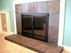 slate fireplace designs | to create a fantastic living space with a new slate fireplace ...