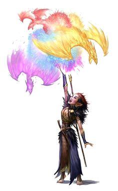 Female Halfling Sorcerer - Pathfinder PFRPG DND D&D d20 fantasy
