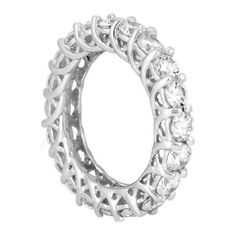 completely in love with with band!Trellis Eternity Wedding Band