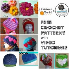 My Hobby Is Crochet: Featured Designer: Clare of Bobwilson123 | Free Crochet Patterns by My Hobby is Crochet with Video Tutorials by Bobwilson123