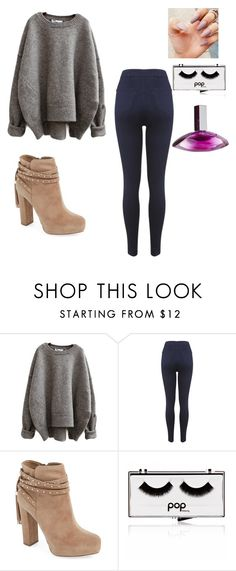 """with Nash Grier"" by slayyeettia ❤ liked on Polyvore featuring Miss Selfridge, Jessica Simpson, Pop Beauty and Calvin Klein"
