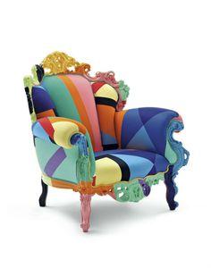 Design klassieker Cappellini Proust Geometrica fauteuil, hou je van extreme eyecatchers, dan is de Proust fauteuil ontworpen door Alessandro Mendini voor Cappellini zeker een aanrader, MEER http://nl.popsfl.com/?p=12105