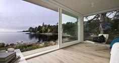 amazing view (via sommarnojen.se) #sommarnojen #view #interior #architecture #scandinavia #sommarnöjen #summerhouse