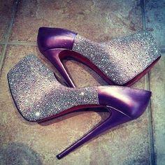 2-Toned Sparkles & Violet