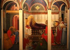 Pietro Lorenzetti (1280/85-1345) La Nascita della Vergine (1342) -  Museo dell'Opera del Duomo Siena | Pietro Lorenzetti (1280 / 85-1345) The Birth of the Virgin (1342) - Cathedral Museum Siena  fratello di Ambrogio Lorenzetti, è stato uno dei più importanti maestri della scuola senese  brother of Ambrogio Lorenzetti, was one of the most important masters of the Sienese school