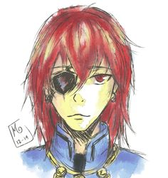 doodle time jethro's new look (some years later in the comic) he's my oc from Kivet Kingdom Chronicles :D
