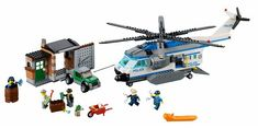 BrickLink - Set 60046-1 : Helicopter Surveillance [Town:City:Police] - BrickLink…