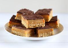 ANZAC Caramel Slice - Love Swah
