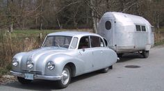 Tatra towing a Bolus! What a combination