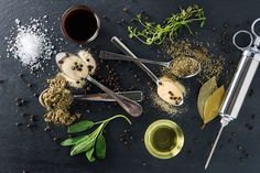 ingredients for savory turkey injection