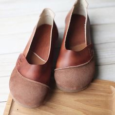 Leather shoes for women in daily life software comfortable accessories handmade
