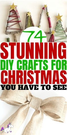 Christmas Crafts To Sell, Diy Christmas Gifts For Family, Handmade Christmas Gifts, Diy Christmas Tree, Holiday Crafts, Christmas Ideas, Easy Homemade Christmas Gifts, Homemade Ornaments, Christmas Games