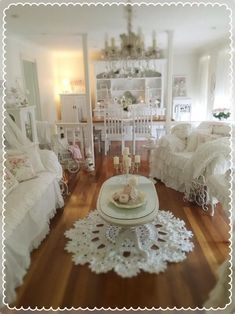 When there is not any animals and kids... #shabbychicbedroomsvintage #Romantichomedecor