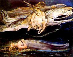 Divine Comedy Pity C William Blake Tate Gallery London Canvas Art - William Blake x Harry Clarke, Collage Instagram, William Blake Art, Art Visionnaire, Songs Of Innocence, English Poets, Kay Nielsen, Meet Women, Tate Gallery