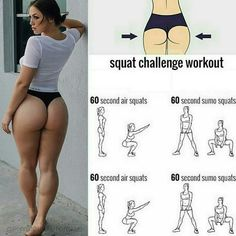 Squat challenge workout to tone your glutes! . Great Exercises Friends. ! You want to transform your body in 4 weeks? Continue Reading . . TAKE THE 4-WEEK CHALLENGE! . How much weight do you want to lose? Do you think that is possible to lose 24-32 pounds in just 4 Weeks? - - - Like and save this pictureMore fitness/food tips?Follow me - - - Credit: @physiquetutorials. . . Check out my 28 DAYS DIET PLAN . (Link in Bio @wellness_to_health) to see all the other things you've been misinformed…