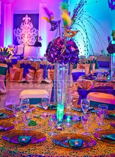 mardi gras wedding reception ideas | Mirage – Mardi Gras Quince