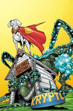 Krypto the Superdog ACTION COMICS #789 by Duncan Rouleau