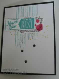 CRAFTDOC » Blog Archive » Gorgeous Grunge by Stampin' Up!