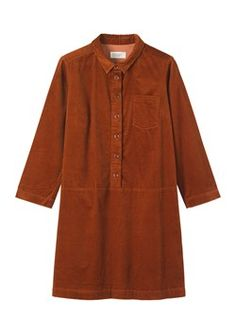 SOFT CORD SHIRT DRESS by TOAST - Some day I will have this dress
