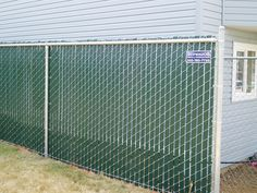 1000 Images About Slatted Privacy Chain Link Fence On