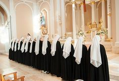 Reception of the habit. Dominican Sisters of St. Cecilia!!!