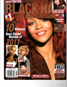 hairstyles for black women - Short Hairstyles 2016 Hair Styles 2016, Short Hair Styles, Black Hair Magazine, Black Women Short Hairstyles, Beauty Guide, Black Women Fashion, Cover Pages, Rihanna, Wedding Hairstyles