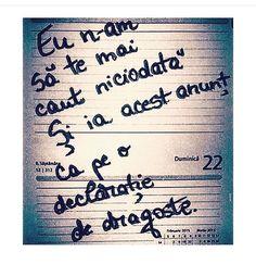 #declaratie