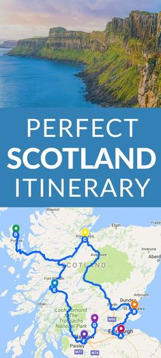 Perfect Scotland Itinerary Scotland is an Incredible, Wild, Historic, Mystical Country that Just Begs to be Visited. If Scotland is Calling you, The Perfect Scotland Itinerary for You. Scotland Vacation, Scotland Road Trip, Scotland Travel, Ireland Travel, Visiting Scotland, Glasgow Scotland, Oban Scotland, Italy Travel, Places To Travel