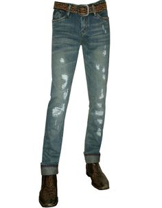 Basic Skinny Fit Green Wash made to look distressed and worn, with Small Music key Back Pocket Logo. Very Cool, Great Fit, 100% Cotton. Shop by price, color, and more. Get the best sales for luxury designer jeans. Denim Secret sells only luxury denim designed by Maxime Cossoguy.