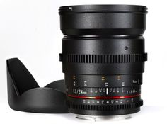 Introducing Samyang Cine SYCV24MN 24mm T15 Cine Wide Angle Lens for Nikon. Great Product and follow us to get more updates!