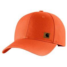 Carhartt Men s Blaze Orange Upland Cap 87360de37ae6