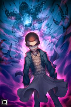 Eleven | Drake Tsui aka Quirkilicious - Follow Artist on DeviantArt // Tumblr // Facebook // Twitter // Instagram // RedBubble (for prints)     More Drake Tsuis Artworks    More Stranger Things Related Artworks