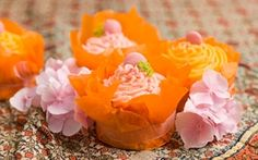 Vanilja cupcakes Cupcakes, Candle Holders, Candles, Rose, Flowers, Plants, Sweet, Baking, Candy
