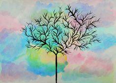 pintura a l'aiguada d'alumna de 2n ESO Painting, Color, Art, Water Colors, Pintura, Art Background, Painting Art, Paintings, Kunst