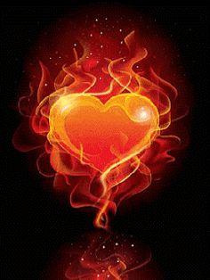 Symbols of the Holy Spirit gif Beautiful Dark Art, Beautiful Love Pictures, Beautiful Hearts, Love Heart Images, Heart Pictures, Heart Wallpaper, Love Wallpaper, Fogo Gif, Gif Kunst