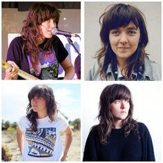 Courtney Barnett hair