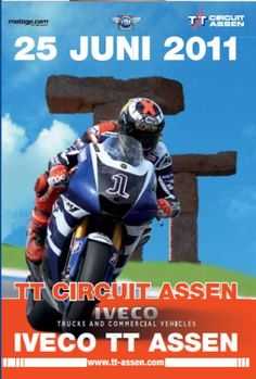 posters tt assen 25-juni-2011 Bike Poster, Motorcycle Posters, Poster Ads, Retro Bike, Illustrations Posters, Art Posters, Isle Of Man, Classic Bikes, Vintage Motorcycles