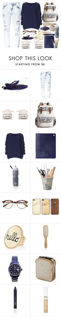 """""""first day outfit- back to school3"""" by shalloon ❤ liked on Polyvore featuring Zara, Converse, American Rag Cie, Aspinal of London, Victoria's Secret, ESSEY, Toast, River Island, Philip Kingsley and Light Time"""