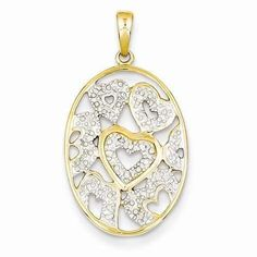 Hearts all over the world tonight with this fancy 14k Diamond Hearts in Oval Pendant - $177.00 only from IceCarats.com.  Use code INSTALOVE for a booming 10% discount.  #icecarats #jewelry #fashion #accessories #jewelryjunky #latestfashion #trending #fashiontrends #affordablefashion #lookbook #fashionbloggers #bloggerstyle #bestseller #instaglam #instastyle #wiw #jewelrylover #ootd #streetstyle #jewelrylover #jewelrytrends #dailyinspo #romantic #fashionkilla #fashionstory #hollywood #classy…