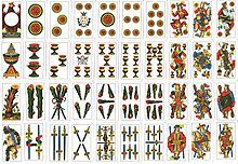 Carte piacentine al completo - Spanish playing cards - Wikipedia, the free encyclopedia