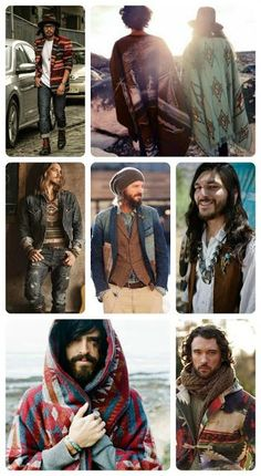 Men's Bohemian Fashion for Autumn {men's boho fashion} Men's autumn fashion