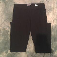 "Vince leggings Vince black leggings an everyday where anywhere basic. Cool knot legging defines and streamlines your silhouette.  27"" length. 66% viscose 30% nylon 4% polyurethane Vince Pants Leggings"