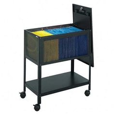 Safco Steel Mesh Tub File Cabinet by SHOPZEUS. $254.89