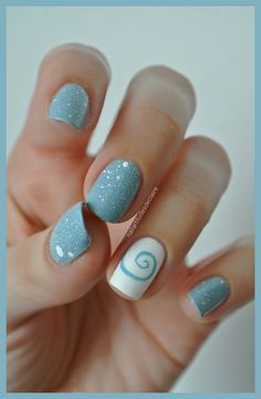 Top 33 Amazing Short Nails Ideas - Acrylic Glamorous Short Acrylic Nail Art Designs Short acrylic nails are the most effective for terribly short nails, as they assist strengthen your fingernails and build your manicure harder and longer l Fabulous Nails, Gorgeous Nails, Pretty Nails, Blue Nails, My Nails, Cute Nail Art, Nagel Gel, Acrylic Nail Art, Fancy Nails