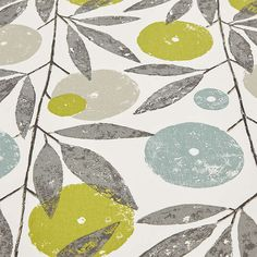 BuyScion Blomma Furnishing Fabric, Kiwi Online at johnlewis.com